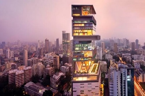 Antilia Ambani Most Expensive Houses