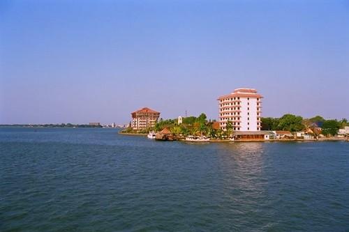 Willingdon Island in Cochin