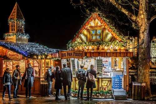 Christmas Market London, England