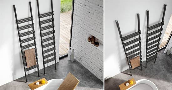 Badkamer Radiator Design : Beautiful designradiator vermomd als ladder badkamer radiatoren