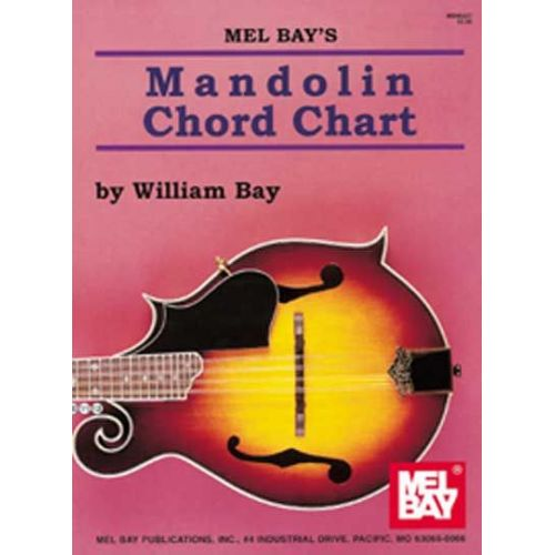 MEL BAY BAY WILLIAM - MANDOLIN CHORD CHART - MANDOLIN - Woodbrass - mandolin chord chart