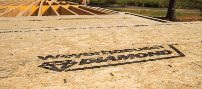 High Performance Weyerhaeuser Diamond™ Subfloor Panel Introduced at 2017 International Builders' Show