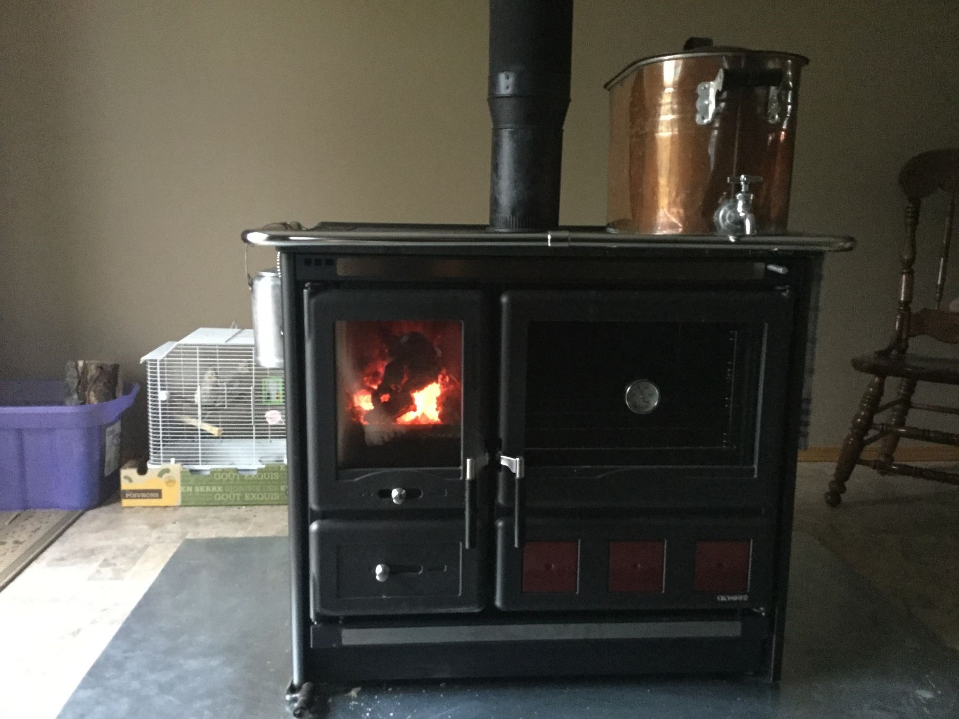 Wood Burning Cook Stove La Nordica Quotrosa Xxlquot