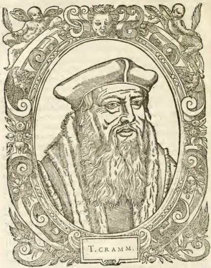 T Cramm- Thomas Crammerus (Thomas Cranmer) From de Beze's Icones (1580)
