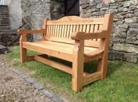 Memorial Benches | The Wooden Workshop | Oakford, Devon