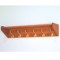 Wooden Mallet | Oak Hat & Coat Racks
