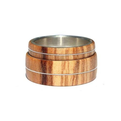 Medium Crop Of Wooden Wedding Rings