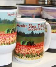 Various Mugs Available from Wooden Shoe Tulip Farm