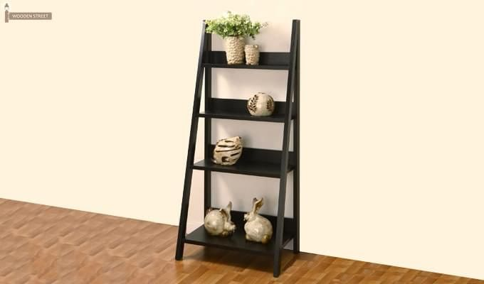 Buy Donna Book Rack Black Finish Online In India