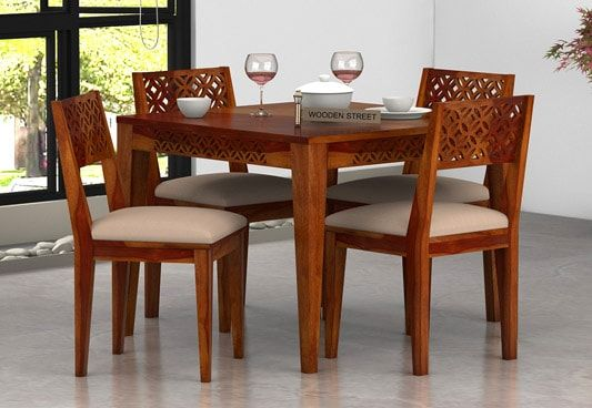4 Seater Dining Table Buy 4 Seater Dining Table Online
