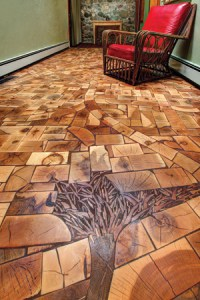 Kids Install End-Grain Floor With One of Industry's Best ...