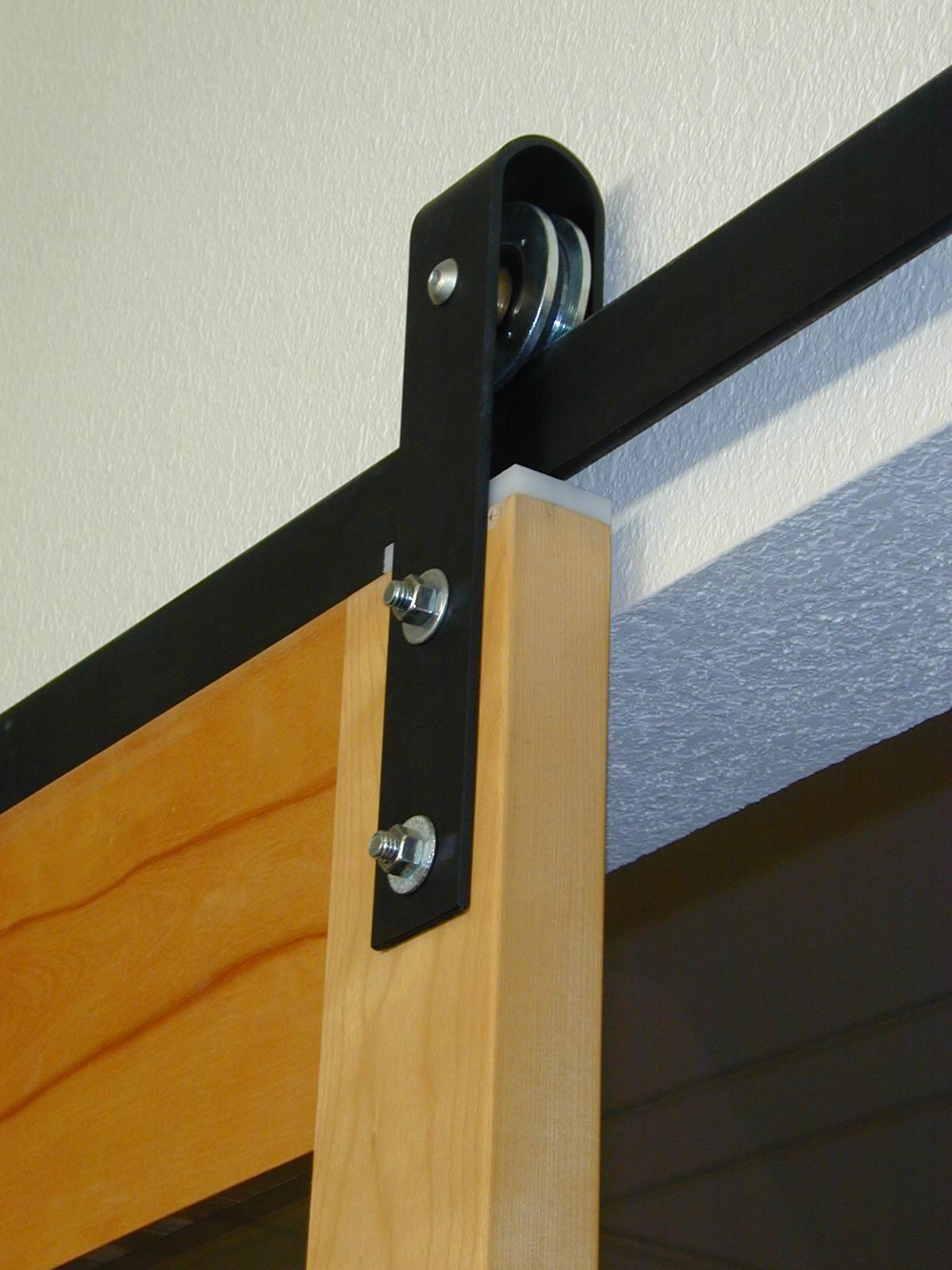 Shed Sliding Door Tracks Clingerman Doors - Custom Wood Garage Doors - Clearville, PA