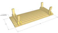 Patio bench (napping bench) plans
