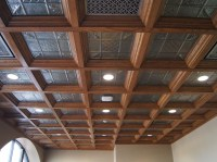 The gallery for --> Wood Coffered Ceiling