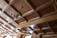 St. John Cantius Church in Chicago - WoodGrid Ceiling