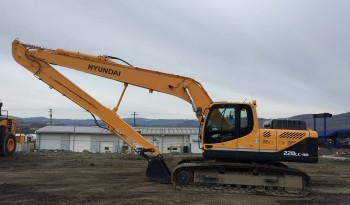 Hyundai R220LC-9A Long Reach