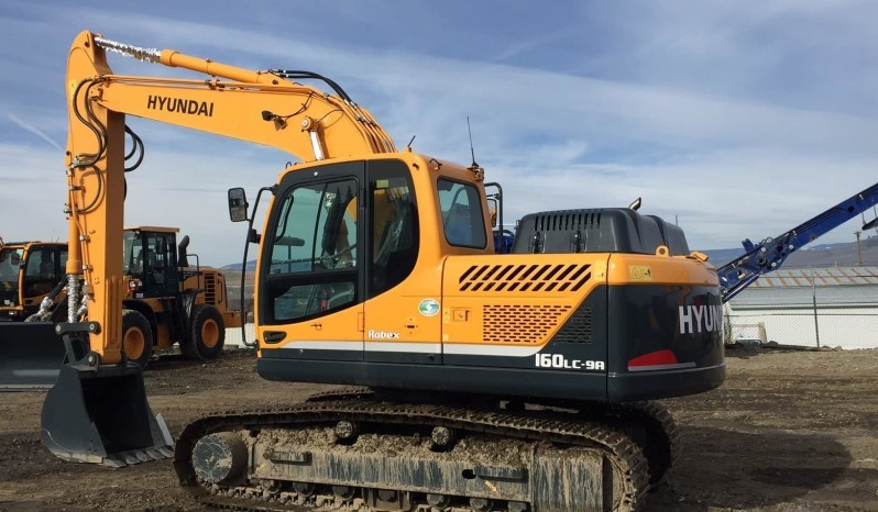 Hyundai R160LC-9A (Flat Bottom) full