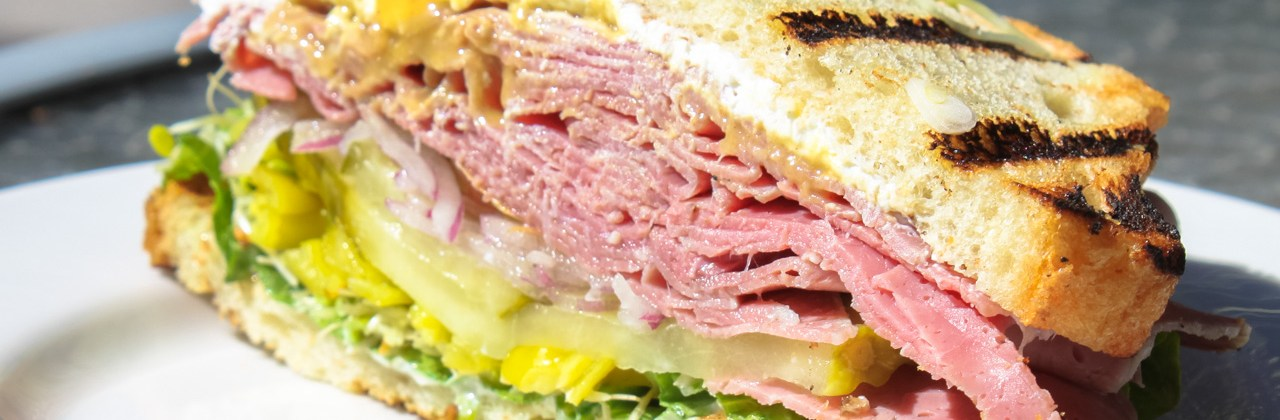 Sandwich Menu Online!