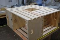 Wood Crate Coffee Table - WoodLogger