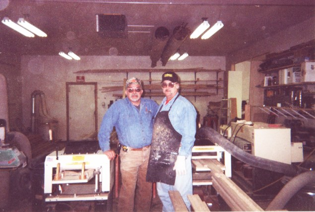 """""""Our two families are making a good living,"""" says James Tolley of South Dakota. """"My partner and I own 5 Woodmaster Molder/Planers. One's set up for planing, one for curved molding, and the others for straight molding. We do a lot of custom woodworking and millwork manufacturing."""""""