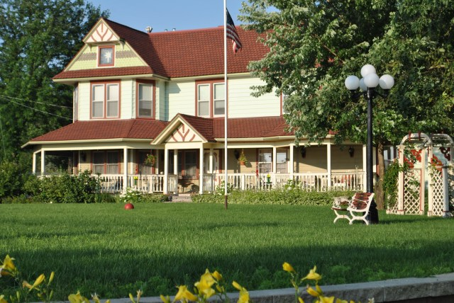 """""""Whisper Rock Victorian Dreams Vacation Home"""" didn't always look like the showplace it does today. Owners, Jim Magrone and Lynn Owen did extensive restoration with help from their Woodmaster Molder/Planer."""