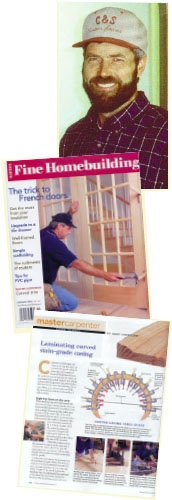Gary Striegler is a heavy-hitter. He's an expert woodworker who gladly shares his techniques with others. He's a contributor to Fine Homebuilding and Fine Woodworking magazines, and has a series of videos on our Woodmaster Tools website. Watch and learn!