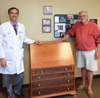 David, Doctor, Desk