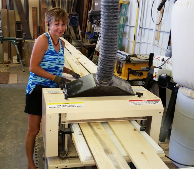 "Craftswoman At Work! Holly Hanke sent in photos and told us about her molding business, ""The Finishing Touch."""