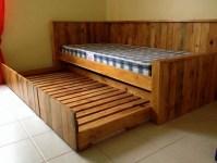 Wooden Pallet Bed | Wood Pallet Furniture