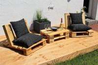 Urban Style Pallet Patio Furniture | Wood Pallet Furniture
