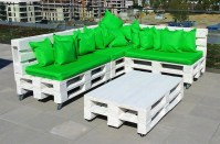 Outdoor Furniture Idea with Recycled Pallets | Wood Pallet ...