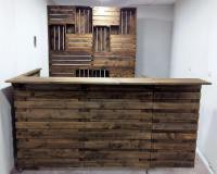 Bar Made Out of Recycled Shipping Pallets   Wood Pallet ...