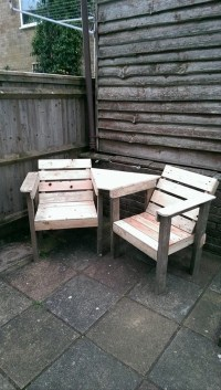 Recycled Wood Pallet Chair Ideas  Wood Pallet Ideas