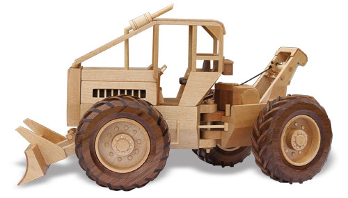 The Log Skidder Woodworking Pattern Approx 13quot