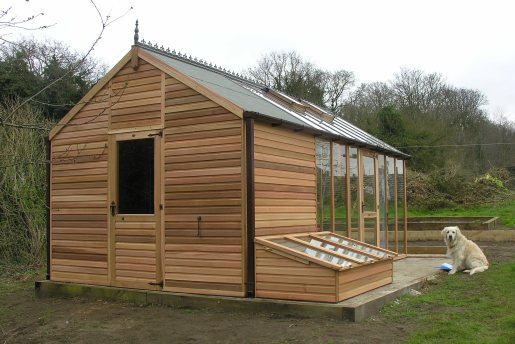 Garden Sheds With Greenhouse lean to greenhouse plans home design ideas