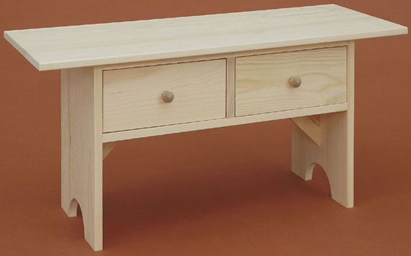 Pine Coffee Table Bench The Wood Shed
