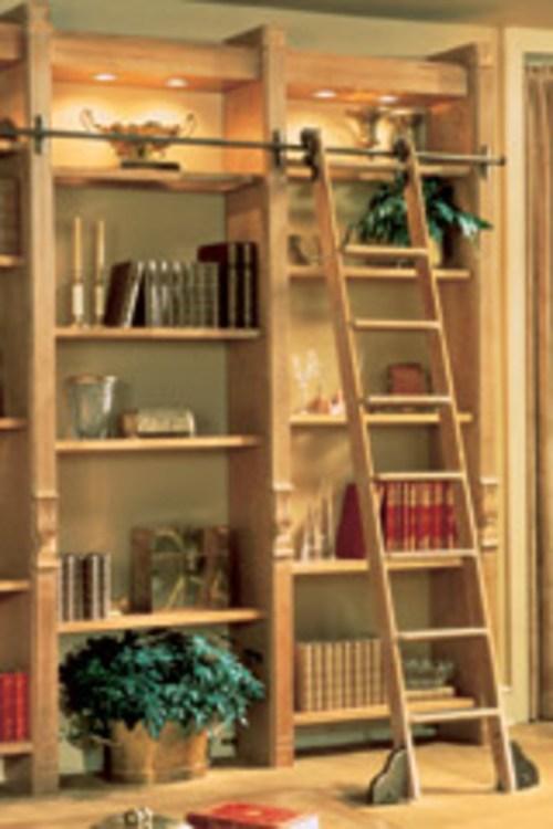 Medium Of Rolling Library Ladder