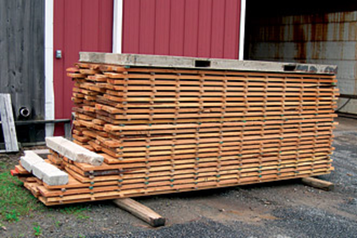 A Simple Approach To Drying Lumber Woodshop News