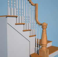 Custom Handrailing for an Awkward Winder