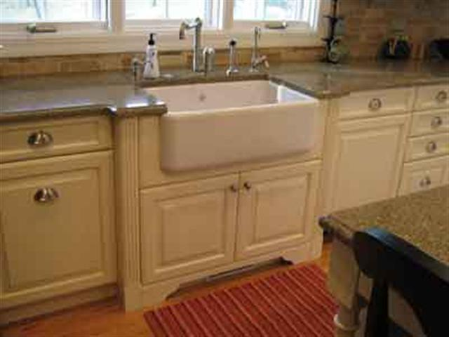 Installing an over mount sink apps directories