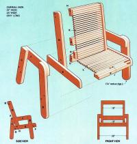 Deck Chair Plans - Woodwork City Free Woodworking Plans