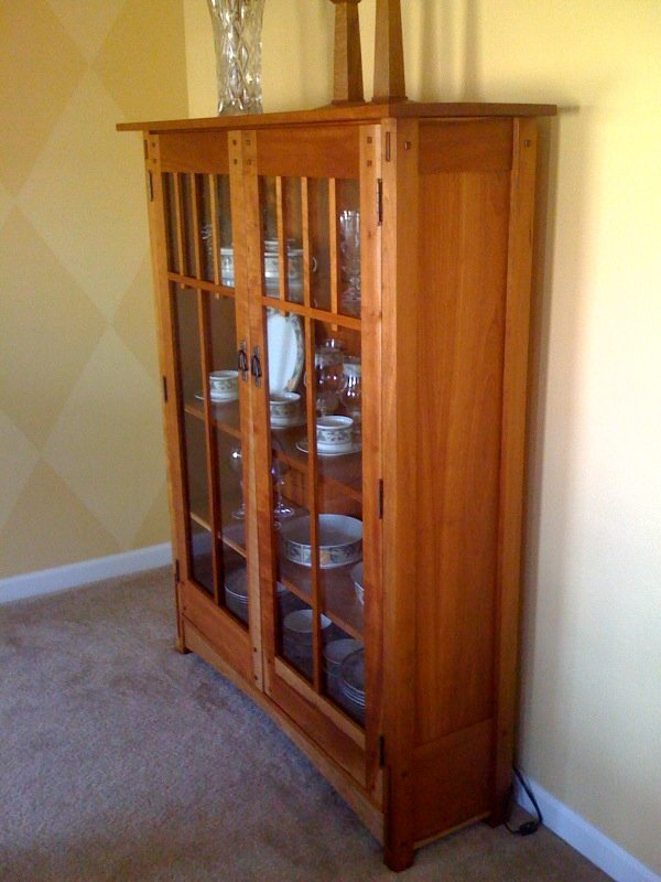 Mission Style Bookcase Plans Woodwork City Free