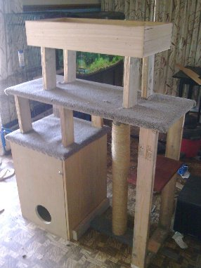 Free Cat Tree Plans Woodwork City Free Woodworking Plans