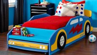 Build a Race Car Bed - Woodwork City Free Woodworking Plans