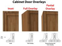 Full Overlay Cabinet Door Locks | Taraba Home Review