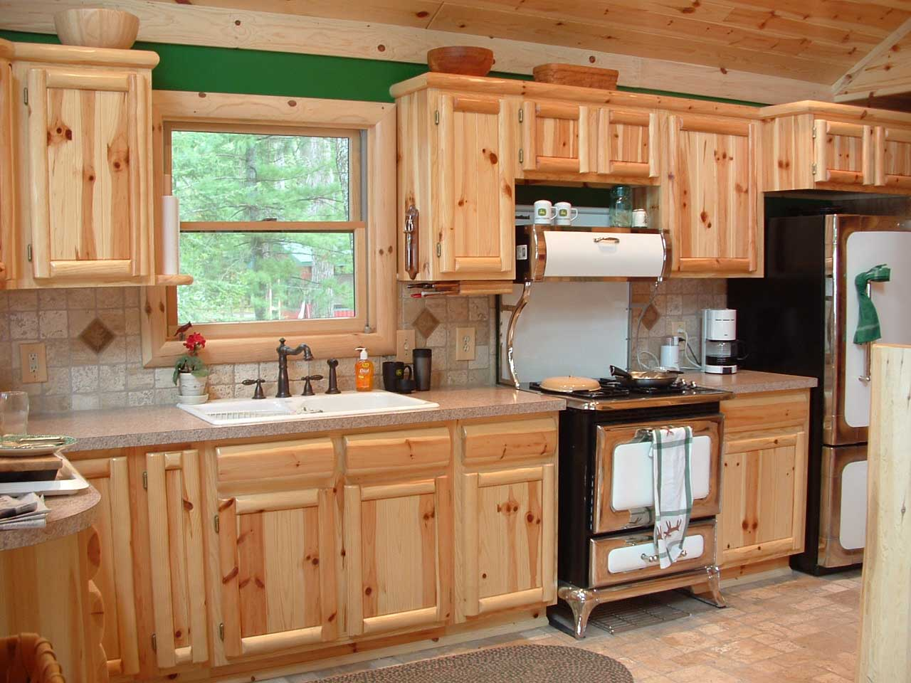 cabinetry pine kitchen cabinets 03WebQuality