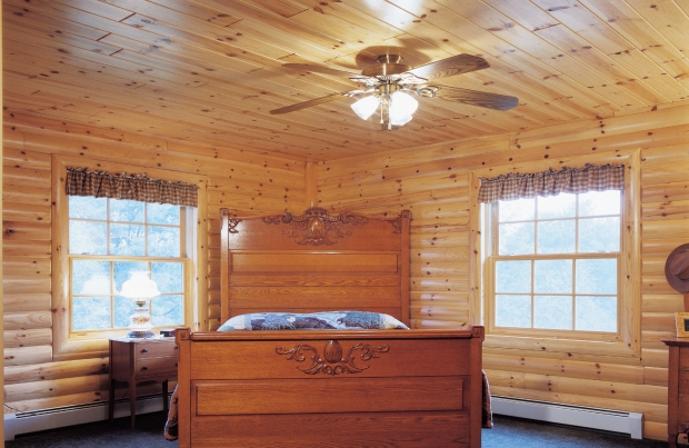 Prefinished Tongue And Groove Pine Paneling In Your Bedroom