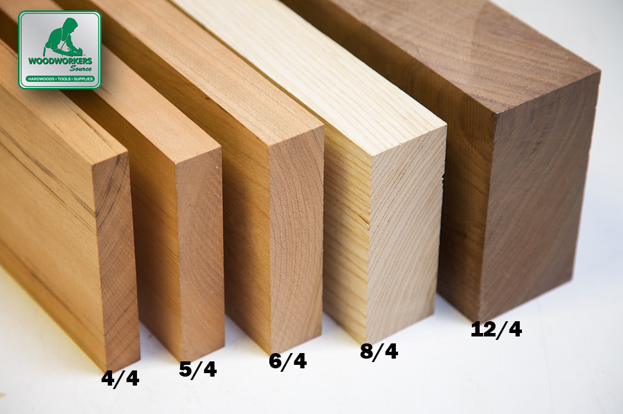 Woodworking 101 What Does 4/4 Mean In Lumber? \u2013 Woodworkers Source Blog