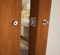 Privacy barn door lock   Woodworking Network