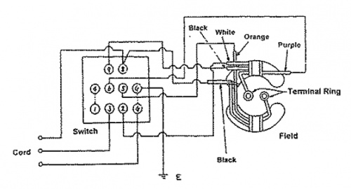 switch wiring black white